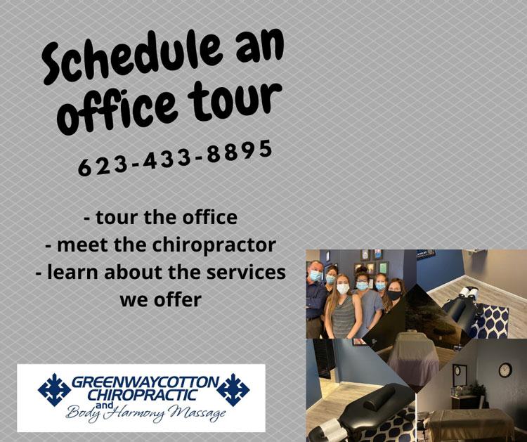 Chiropractic Surprise AZ Schedule Office Tour
